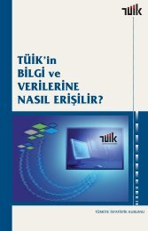 TÜİK'in veri ve bilgi dağıtım hizmetleri - Türkiye İstatistik Kurumu