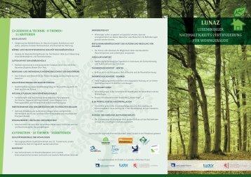 luxemburger nachhaltigkeits-zertifizierung für wohngebäude