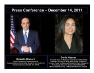 Press Conference – December 14, 2011 - Detroit Medical Center