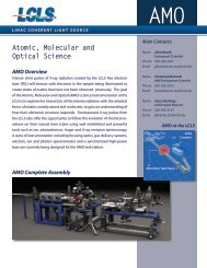 AMO Technical Specifications (PDF)