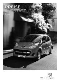 Peugeot 107 Preisliste [PDF]