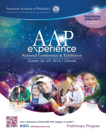 : American Academy of Pediatrics (AAP) 2013 National Conference ...