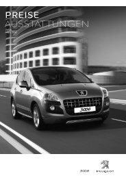 Peugeot 3008 Hybrid Preisliste [PDF]