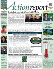 July/August 2013 - Metro South Chamber of Commerce