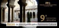 Bases - Fundación del Patrimonio histórico de Castilla y León