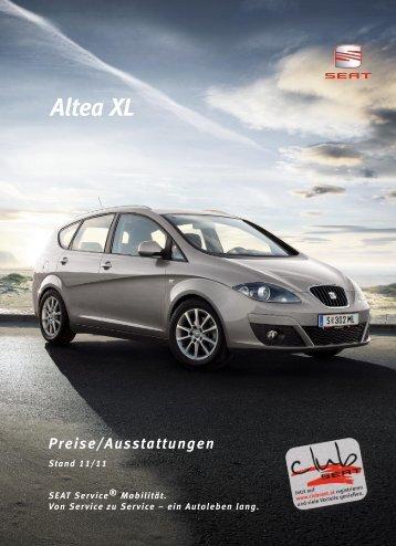 Preisliste Altea XL 05 09