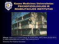 Main directions in scientific research: - Psichofiziologijos ir ...