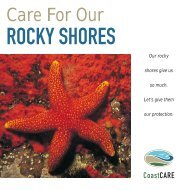Care for our rocky shores - South African Coastal Information Centre
