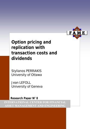 Option trading transaction costs