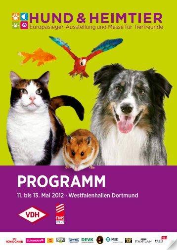 PROGRAMM - Hund und Heimtier
