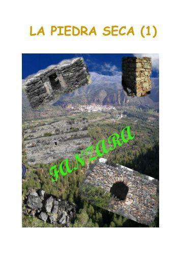 """LA PIEDRA SECA (1) - Coordinadora d'Entitats per la """"Pedra Seca"""""""