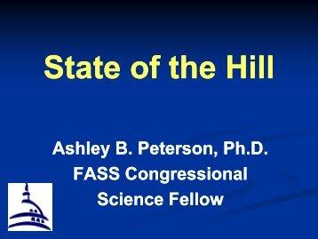 Ashley Peterson, PhD, Federation of Animal Science Societies ...
