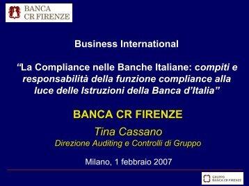 L'Auditing e la Compliance - IsacaRoma