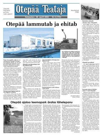 OT 4_ uus.indd - Otepää vald