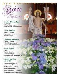 Lenten Wednesdays Palm Sunday Maundy Thursday Good Friday ...