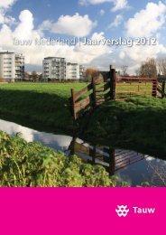 Tauw Nederland | Jaarverslag 2012