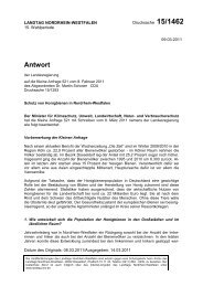 Schutz von Honigbienen in Nordrhein- Westfalen - Martin Schoser