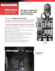 GRAVIMETRIC AUGER FEEDER - Maguire Products on
