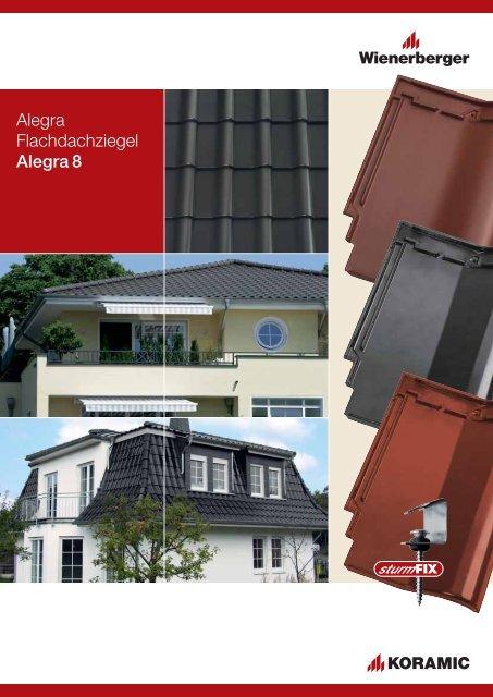 RAL 3009 - Rot Alegra 9 Dachziegel Solardurchgang Dachdurchgang Solardurchf/ührung f/ür Koramic