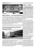 NEUES AUS DER GEMEINDE NEUES AUS DER ... - Gemeinde Eben - Page 6
