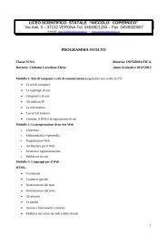 relazione finale del docente - Sogisnc.it
