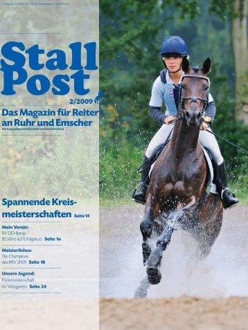Das Magazin für Reiter an Ruhr und Emscher ... - KRV Dortmund