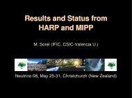 Results and Status from HARP and MIPP