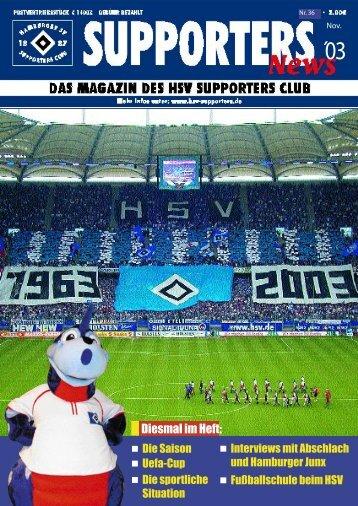 Die wichtigen Seiten - HSV Supporters Club