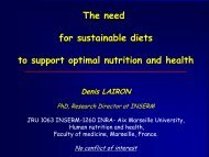 Are present diets in - INRA Montpellier