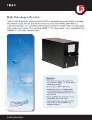 Flight Data Acquisition Unit - L-3 Aviation Recorders
