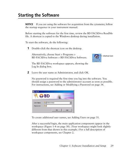 BD FACSDiva Software 6.0 Reference Manual