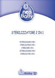 STERILIZZATORE 2 IN 1 - Neo Baby