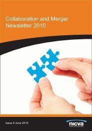 Collaboration and Merger Newsletter 2010 - Nicva