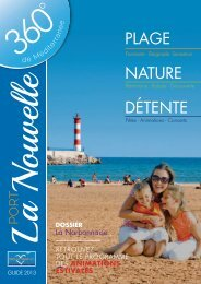 NATURE DÉTENTE PLAGE - Port la Nouvelle