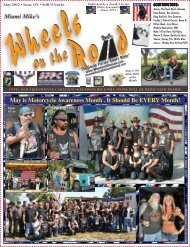 May 2012 • Issue #151 - Wheels on the Road Magazine
