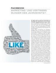facebook marketing- und vertriebs- wunder des jahrzehnts!? - Intre