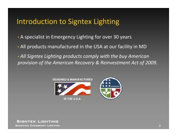 CBS Product Overview (PDF) - Signtex