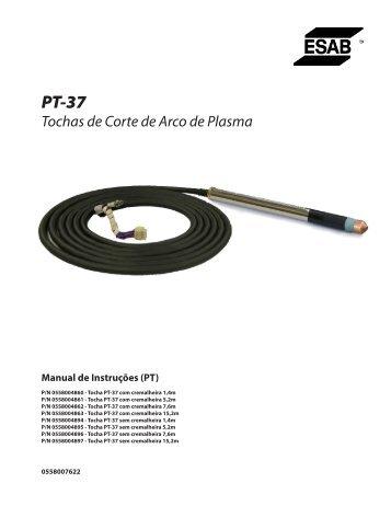 PT-37 Tochas de Corte de Arco de Plasma
