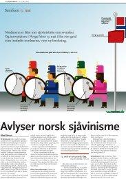 Avlyser norsk sjåvinisme - Stiftelsen Kirkeforskning KIFO