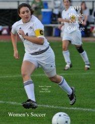 W. Soccer - Rhode Island College Athletics