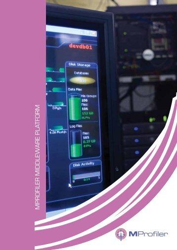 Product Brochure - MProfiler Middleware Platform - Scope ...