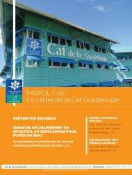 PAWOL CAF La Lettre de la Caf Guadeloupe - Caf.fr