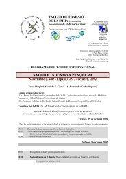 Taller Internacional (IMHA) de Salud e Industria Pesquera - SEMM