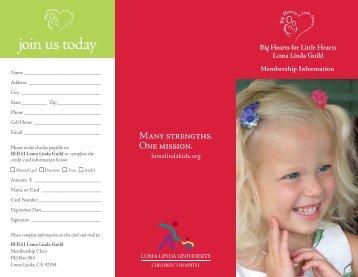 Guild Brochure - Loma Linda University Medical Center