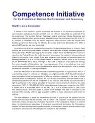 Mobile Telecommunication - Kompetenzinitiative