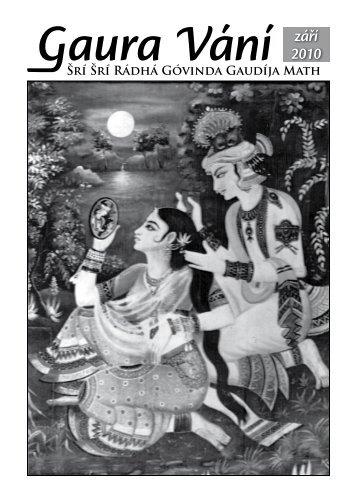 září 2010 - Sri Sri Radha Govinda Mandir