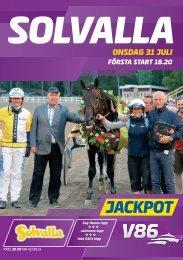 ONSDAG 31 JULI - Solvalla
