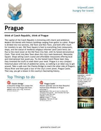 Prague - KISADO