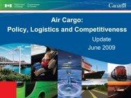 Air Cargo: Policy, Logistics and Competitiveness - CIFFA.com