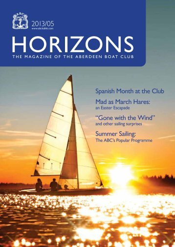 May 2013 Issue - the Aberdeen Boat Club